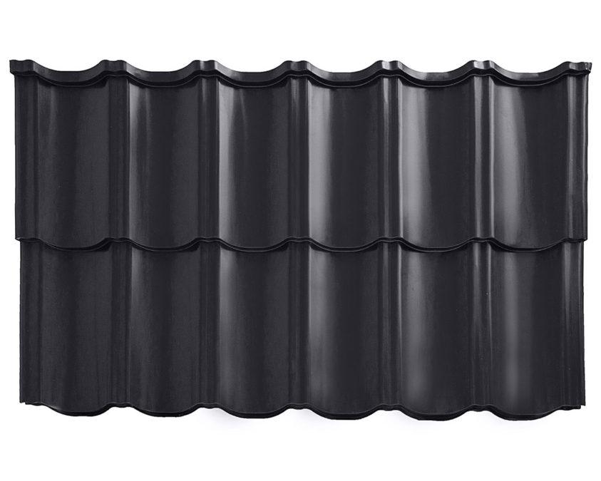 Modular metal roof tile