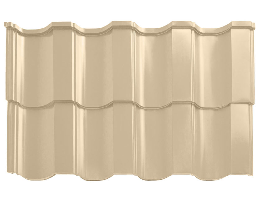 Modular metal roof tile
